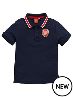 arsenal-source-lab-arsenal-fc-junior-tipped-polo