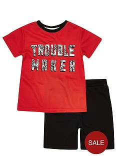 river-island-mini-boys-trouble-maker-mesh-t-shirt-and-shorts-set