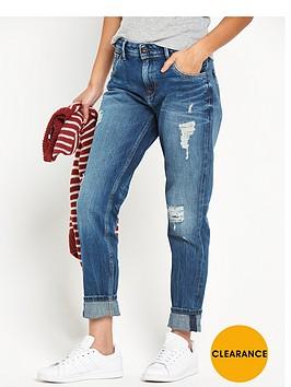 pepe-jeans-pepe-vagabond-regular-waist-ripped-tapered-leg-boyfriend-jean