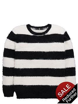 v-by-very-girls-eyelash-stripe-jumper
