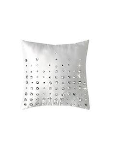 by-caprice-diamante-teardrop-cushion