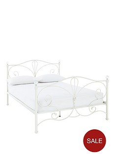 claremont-bed-with-optional-mattress-ivory