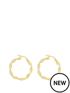love-gold-9ct-yellow-gold-twisted-hoop-earring