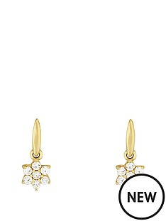 love-gold-9ct-yellow-gold-cubic-zirconia-flower-drop-earring