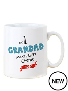 personalised-no-1-grandad-mug