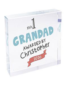 personalised-no1-grandad-crystal-block-large