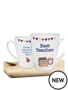 personalised-teacher-latte-mug