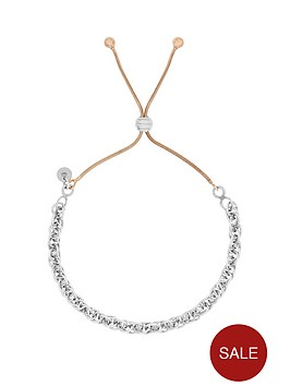 the-love-silver-collection-sterling-silver-and-rose-gold-plated-adjustable-friendship-bracelet