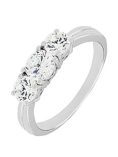 the-love-silver-collection-sterling-silver-cubic-zirconianbsptrilogy-ring