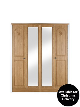 heather-4-door-mirrored-wardrobe
