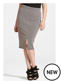 girls-on-film-curve-skirt-with-white-polka-dots