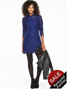 v-by-very-all-over-lace-collared-dress