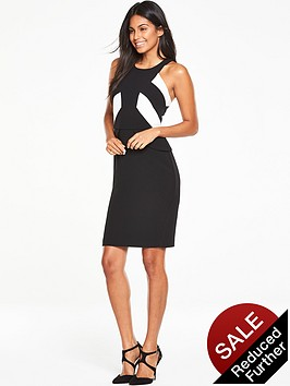 v-by-very-colour-block-bodycon-dress-black