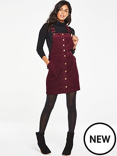 v-by-very-cord-pinafore-dress-berry