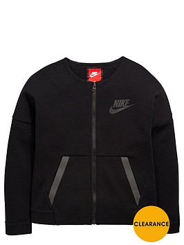 nike-nike-older-girls-tech-fleece-fz-bomber-jacket