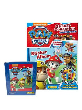paw-patrol-panini-sticker-collection-50-packets-of-stickers-starter