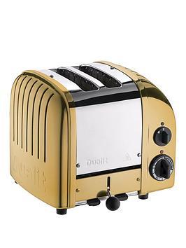 dualit-dualit-27452-classic-vario-2-slice-toaster-brass