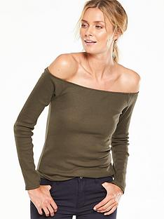 v-by-very-simple-ribbed-bardot-top