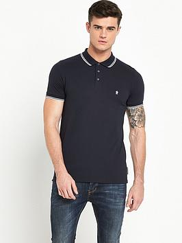 french-connection-tipped-pique-polo-shirt