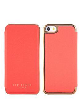 ted-baker-slim-mirror-case-apple-iphone-55sse-shaen-coralrose-gold
