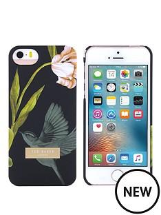 ted-baker-ted-baker-soft-feel-hard-shell-apple-iphone-55sse-dobos-ndash-oriental-floral-black