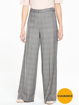 v-by-very-check-belted-wide-leg-trouser