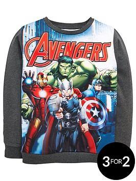 marvel-boys-avengers-team-sweat-top