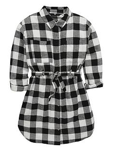 v-by-very-girls-black-checknbspshirt-dress-with-belt