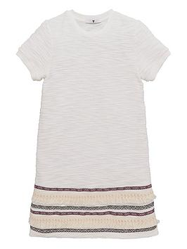 v-by-very-girls-aztec-trim-dress