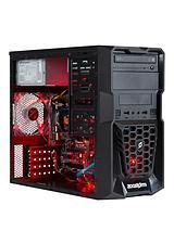 Tempest Intel® Core™ i5 Processor,8GBRAM,1TBHard Drive PC Gaming Desktop Base Unit Nvidia 2GB Dedicated Graphics GTX 960 - Black