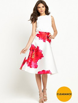 ax-paris-floral-fit-and-flare-dress