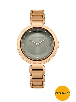 french-connection-french-connection-grey-dial-rose-tone-stainless-steel-bracelet-ladies-watch