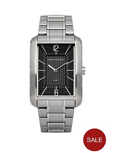 french-connection-french-connection-black-rectangular-dial-stainless-steel-braclet-mens-watch