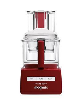 Magimix Cuisine Systeme 4200Xl Blendermix Food Processor  Red