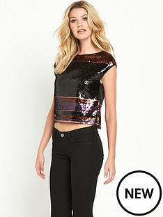 guess-rivta-sequin-stripe-top