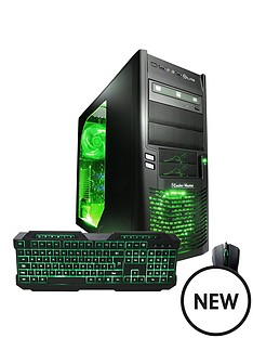cyberpower-squadron-elite-intelreg-core-i5trade-processornbsp8gb-ramnbsp1tb-hard-drive-pc-gaming-desktop-base-unit-withnbspnvidia-2gb-dedicated-graphics-gtx960nbsp--blackgreen