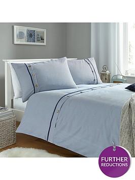 buttoned-stripes-duvet-set-blue