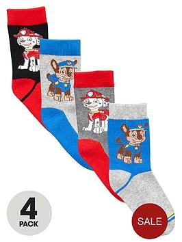 paw-patrol-boys-marshall-and-chase-socks-4-pack