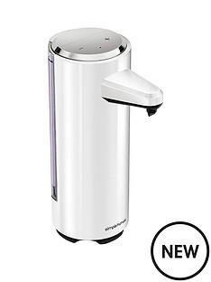 simplehuman-rechargeable-sensor-soap-pump-in-white-ndash-237ml-capacity
