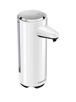 simplehuman-rechargeable-sensor-soap-pump-in-white-ndash-237ml-capacity