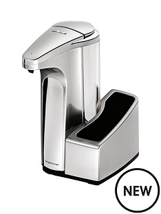 simplehuman-sensor-pump-with-brushed-nickel-finish-ndash-384ml-capacity