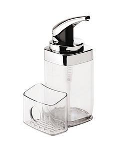 simplehuman-push-pump-soap-dispenser-with-sponge-caddynbsp