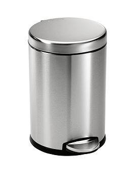 simplehuman-45-litre-brushed-stainless-steel-pedal-bin