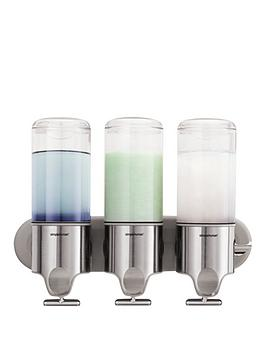simplehuman-triple-wall-mount-pump
