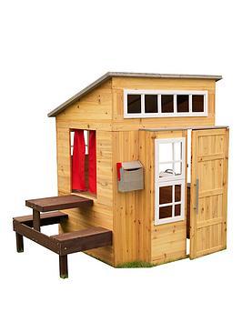 Kidkraft Kidkraft Modern Outdoor Playhouse Picture