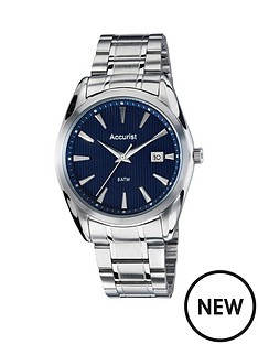 accurist-accurist-blue-dial-silver-tone-stainless-steel-bracelet-mens-watch