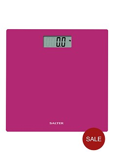 salter-glass-digital-platform-bathroom-scale-fuchsia