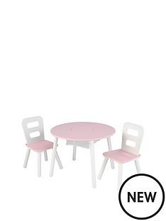 kidkraft-round-table-amp-chair-set-pink