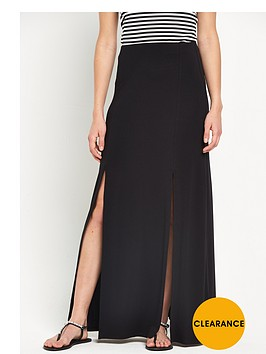 v-by-very-double-split-front-maxi-skirtnbsp