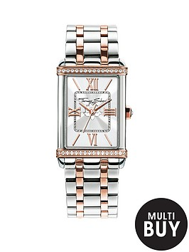 thomas-sabo-century-silver-dial-two-tone-bracelet-ladies-watchnbspplus-free-diamond-bracelet